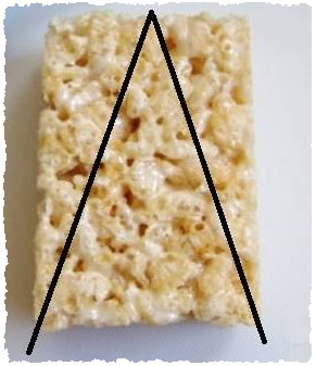 Рисовая лепешка для съедобной ёлочки