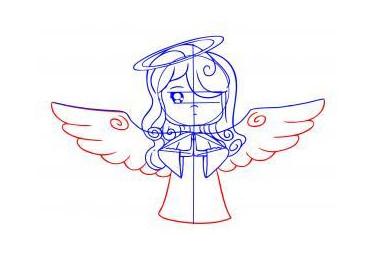 Праздничный ангел – шаг 5