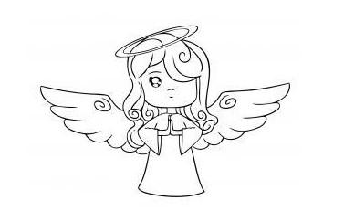 Праздничный ангел – шаг 6