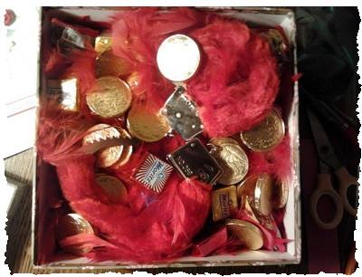 Упаковываем деньги в подарок – шаг 6