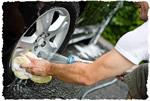 Займитесь весенней чистной машины