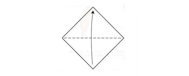 Листок бумаги для оригами