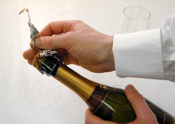 Шампанское: фольга