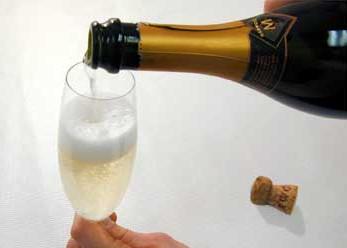 Шампанское: наливайте