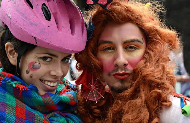 Участники фестиваля Edinburgh Festivals