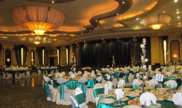 Пример подготовки свадебного зала