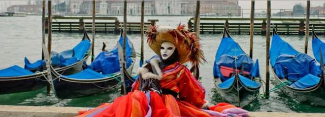 Карнавал в Италии: Венеция
