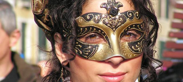 Карнавальная маска: Венеция